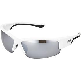 UVEX Sportstyle 215 Sportglasses, white/black/silver